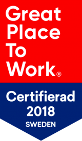Great place to work certifierings badge