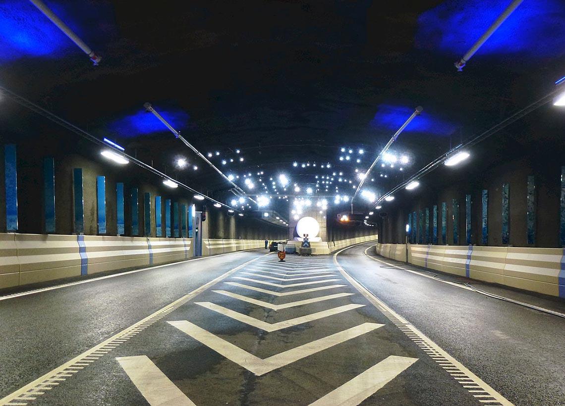 Bild från tunnel.
